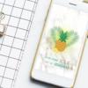 Fond d'écran à télécharger : Ananas !